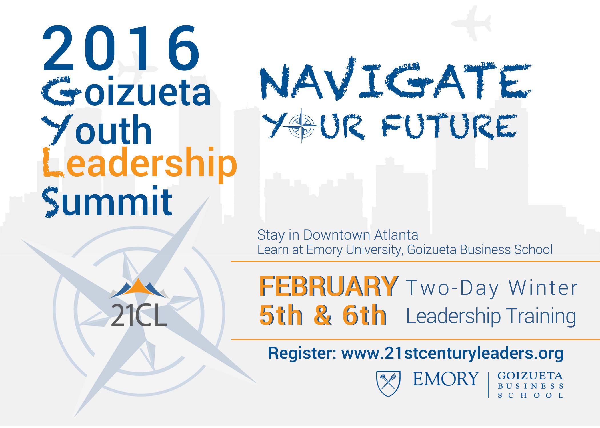 goizueta youth leadership summit 21st century leaders