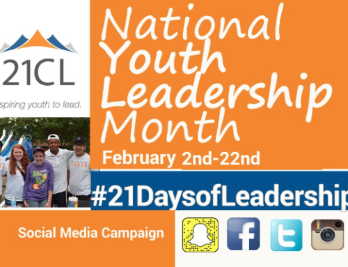 21CL Soars to New Heights During National Youth Leadership Month!