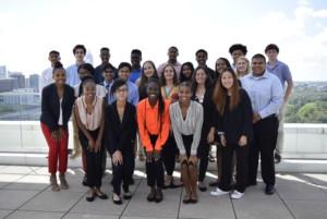 Group photo of the 2019-2020 Youth Ambassadors